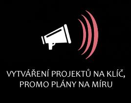 Vytváření projektů na klíč, promo plány na míru